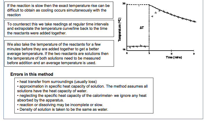 4 Required practical 2 Measurement of an enthalpy change |