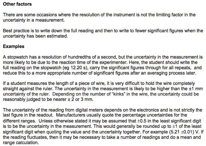 1 Measurement Errors