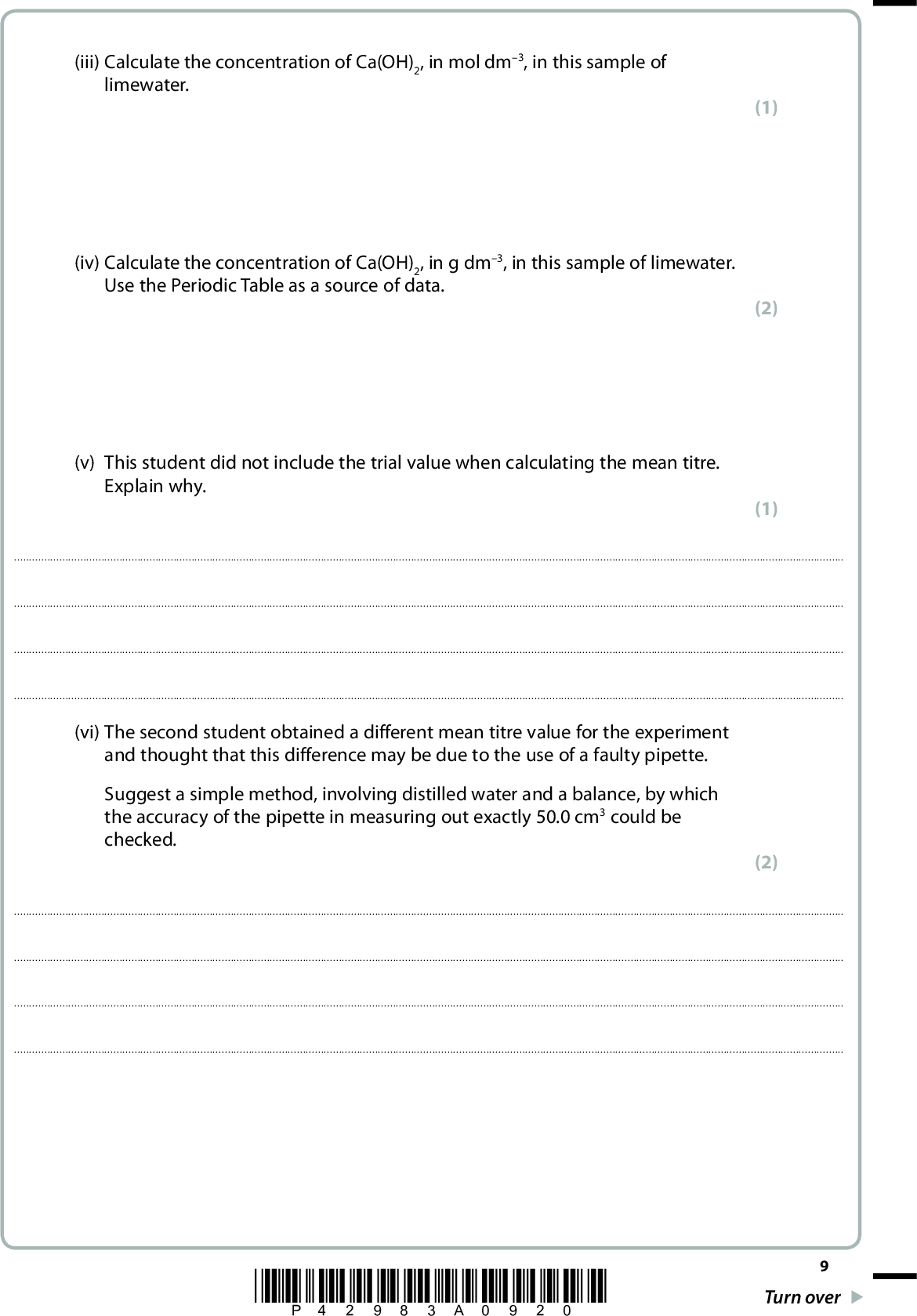 Edexcel jun 2013 r paper 2 q21 with explained solutions answers available below urtaz Image collections