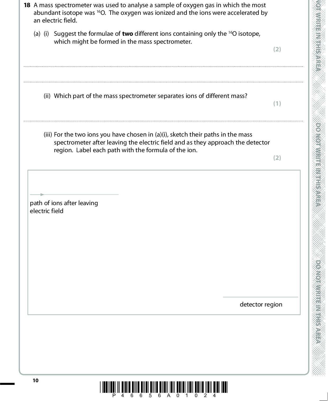 Edexcel Jun 2016 Paper 1 Q18 (with explained solutions)  